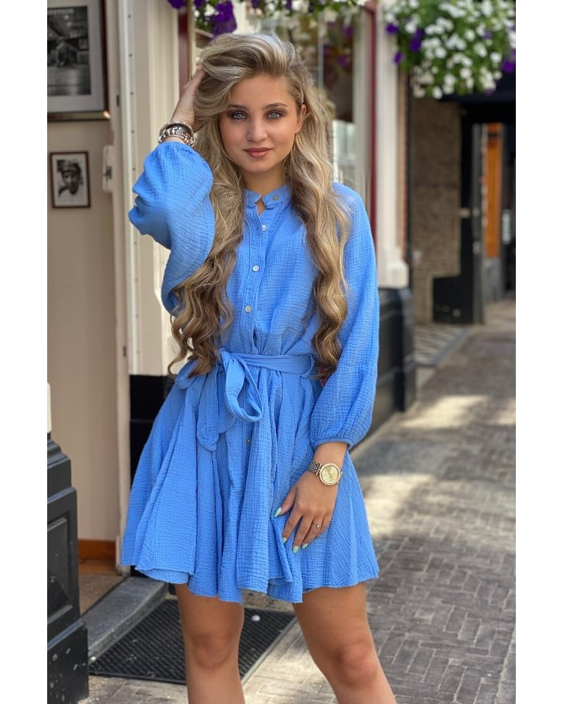 Mandy Dress - Blue