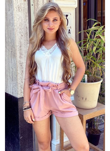 Stylish Summer Short - Old Pink