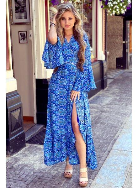 Indian Summer Dress - Kobalt/Blue