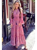 Ariana Bohemian Dress - Pink/Grey