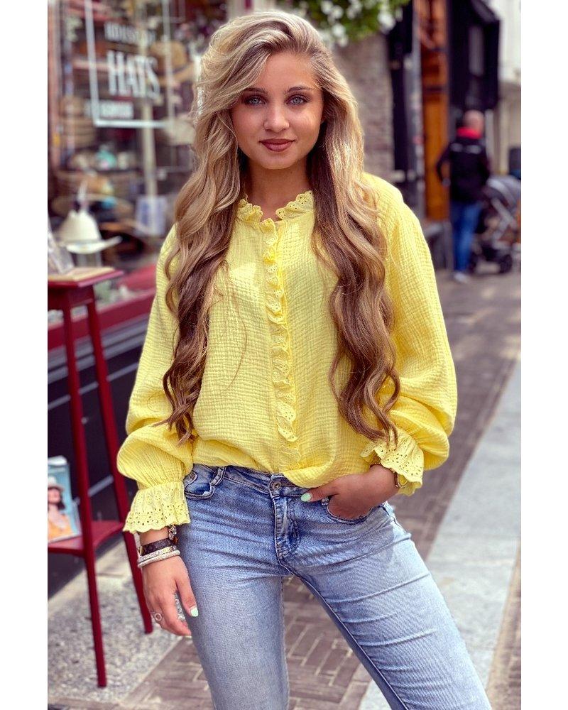 Harley Blouse - Yellow