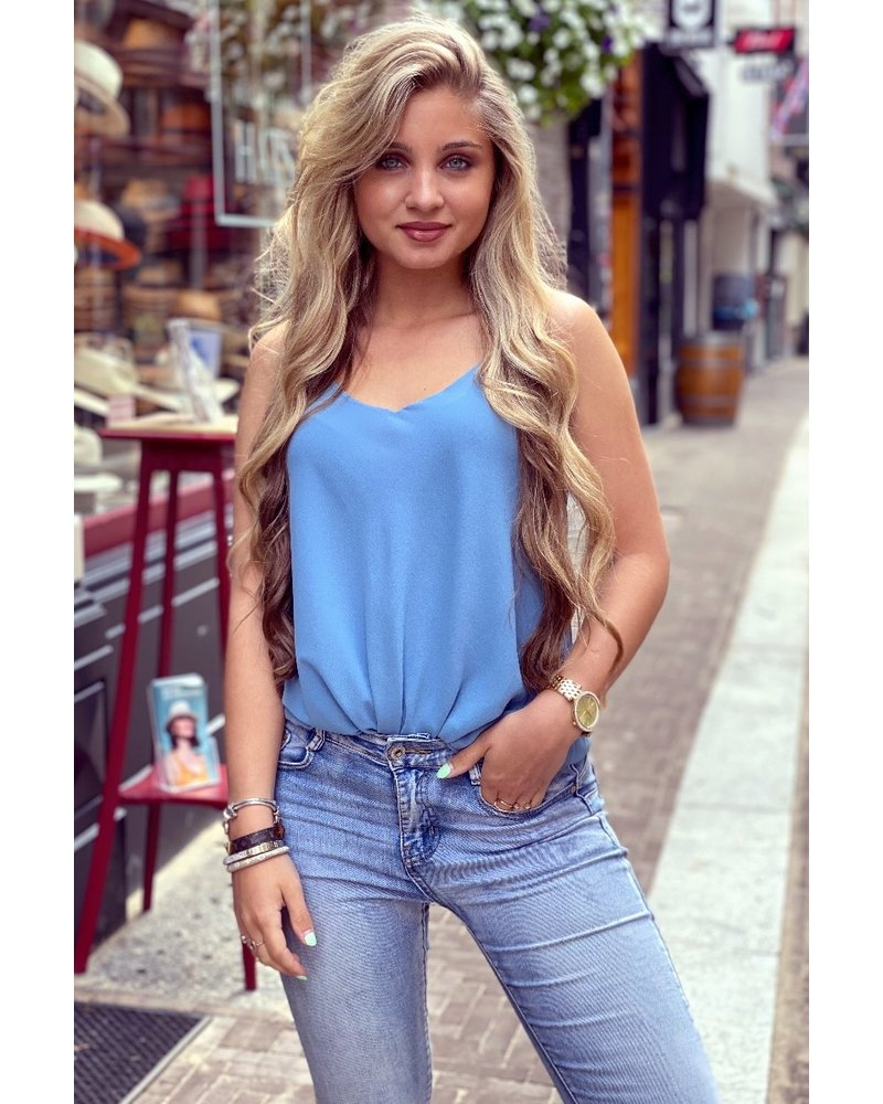 Basic Cami Top - Light Blue