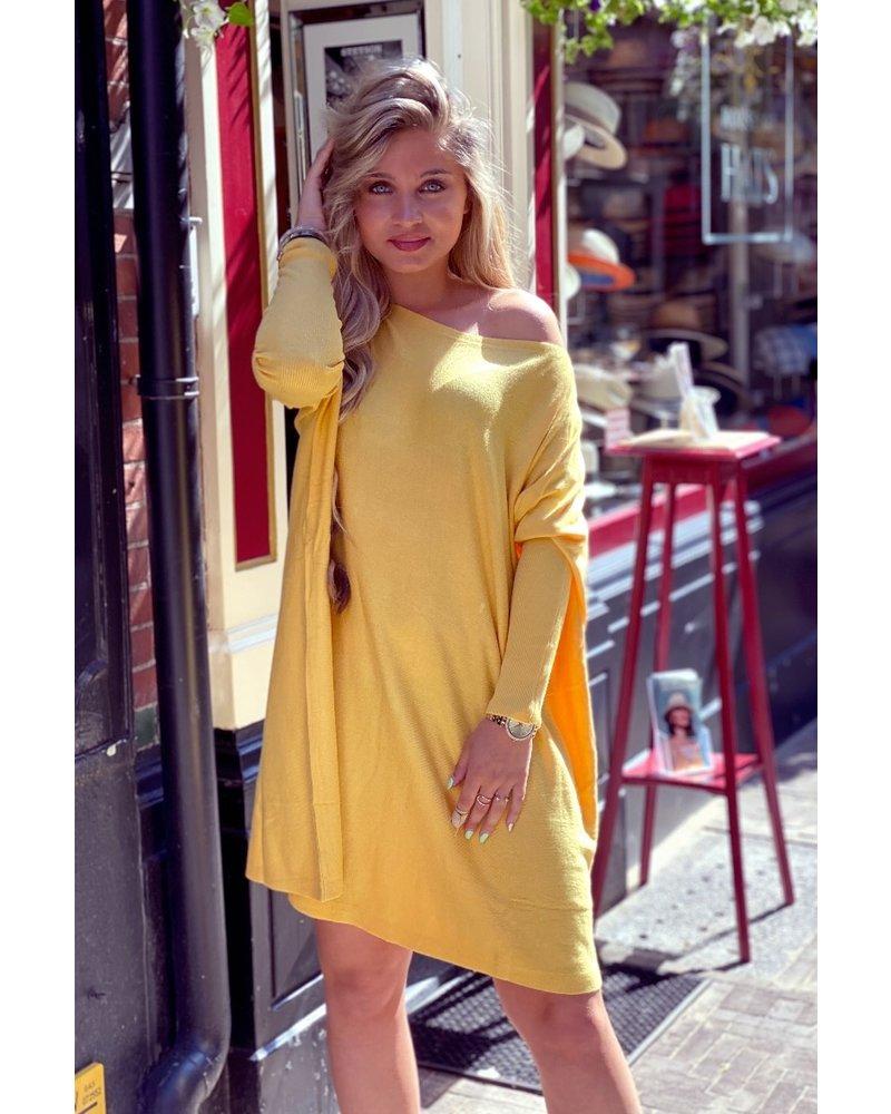 Oversized Sweater Dress - Oker