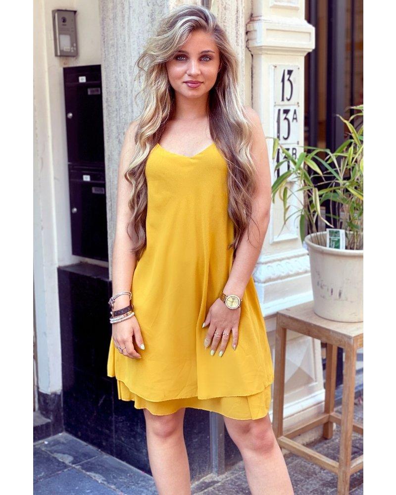 Short Summer Dress - Oker