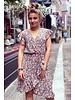 Fenne Short Rose Dress - Army Green