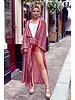 Indian Summer Kimono - Bordeaux / Light Pink
