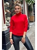 Fabulous Col Sweater - Red