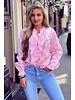 Hannah Broderie Blouse - Light Pink