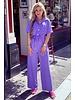 Alexia Jumpsuit - Purple