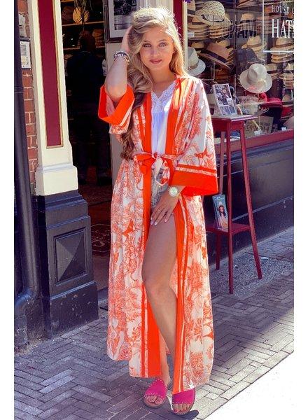 Izzy Kimono - Orange
