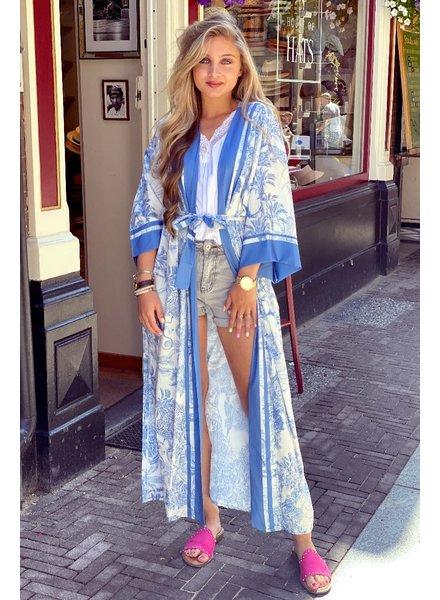Izzy Kimono - Blue