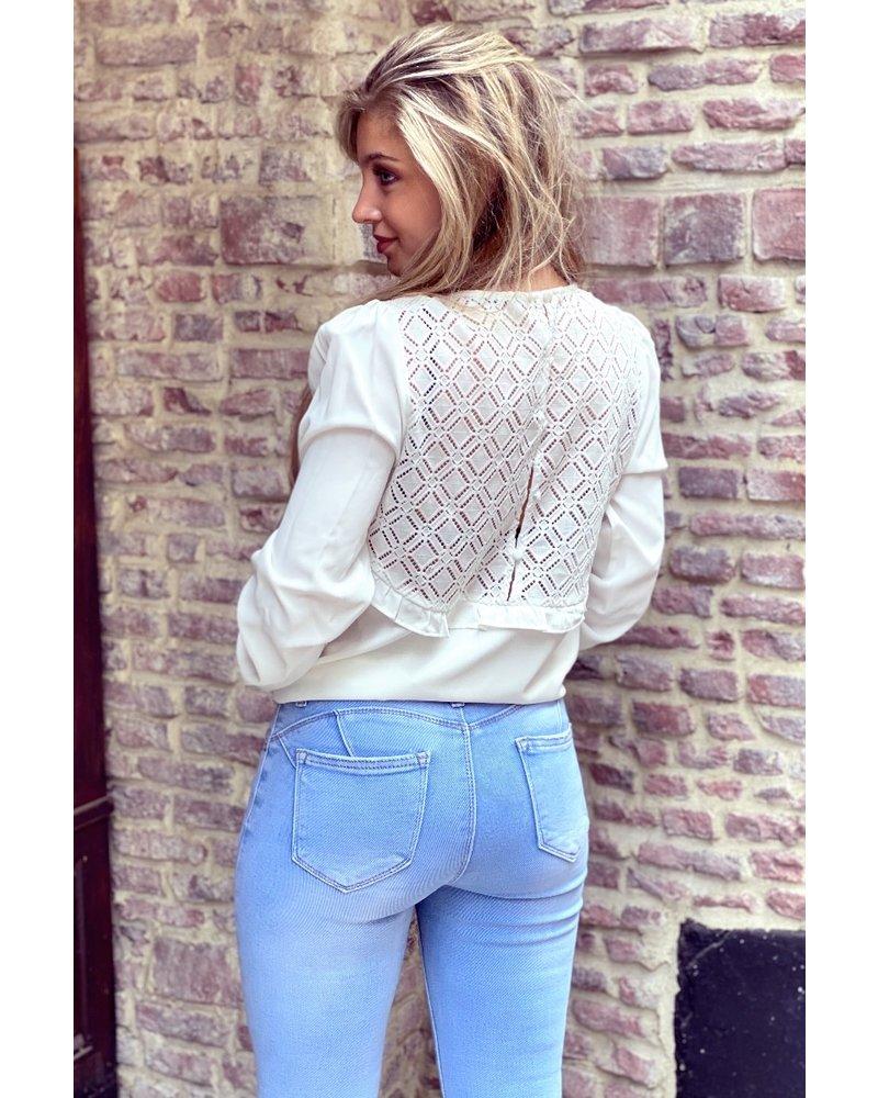 Fenna Blouse - White