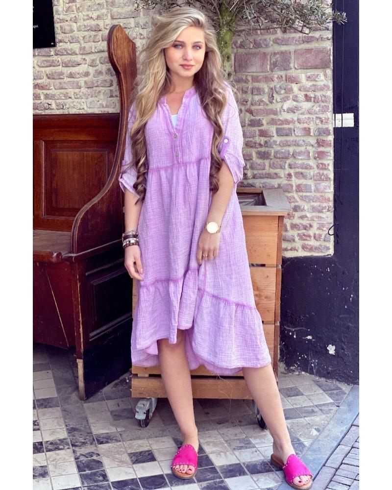 Tiara Midi Dress - Lilac