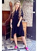 Tiara Midi Dress - Black