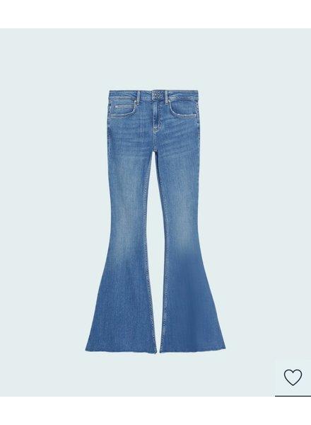 Mona Flared Jeans - Denim
