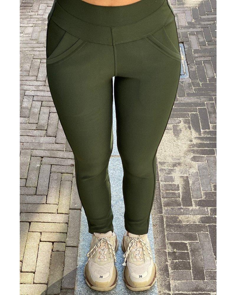 Jessie Pants - Army Green