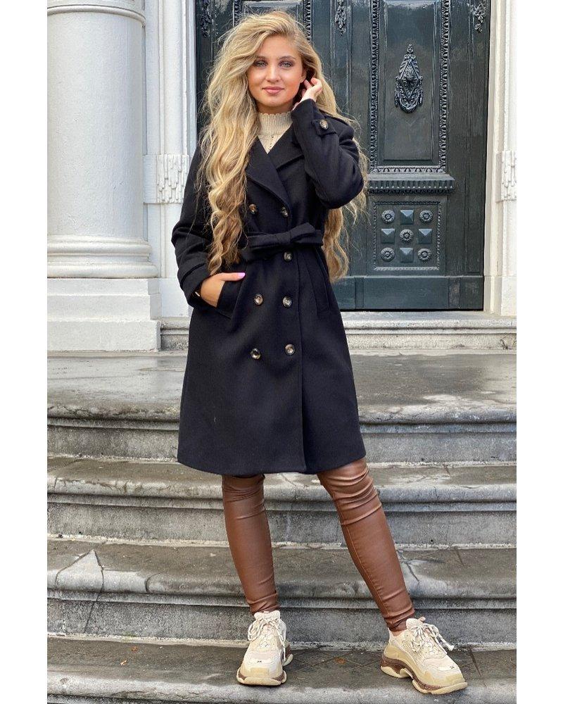Roxi Trenchcoat - Black