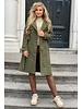 Roxi Trenchcoat - Army Green