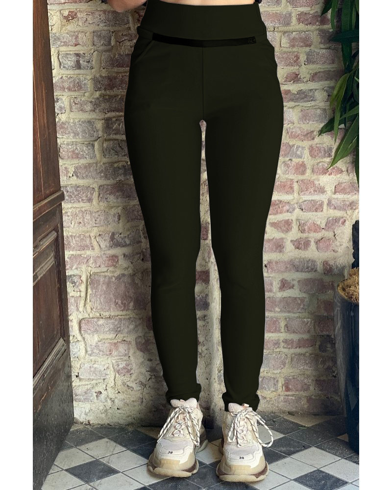 Sophie Pants - Army Green