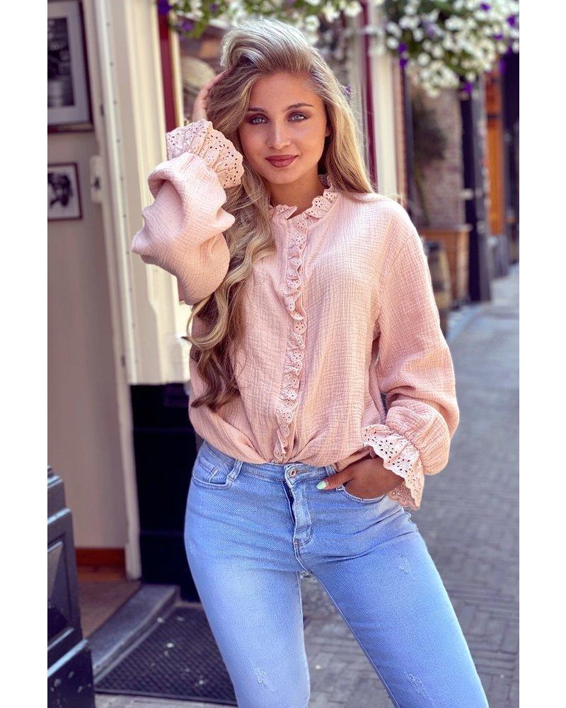 Mae Blouse - Light Pink