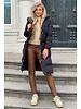 Vivienne Coat Midi - Black