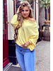 Basic Butterfly Sweater - Yellow