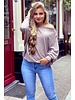 Basic Butterfly Sweater - Taupe