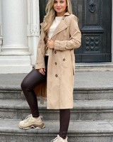 Charlotte Trenchcoat- Camel