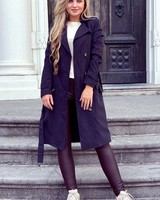 Charlotte Trenchcoat - Black