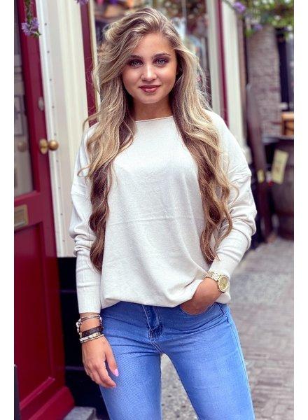Comfy Basic Sweater - Beige