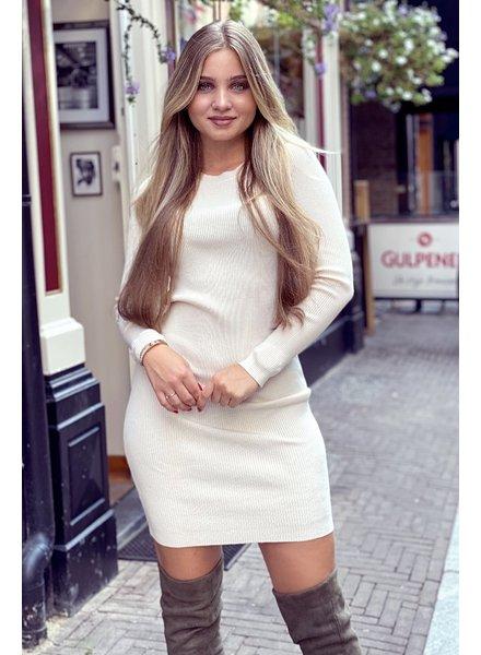 Pencil Dress - Beige