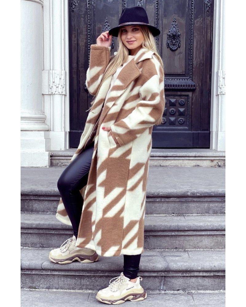 Nikki Coat - Camel/Beige