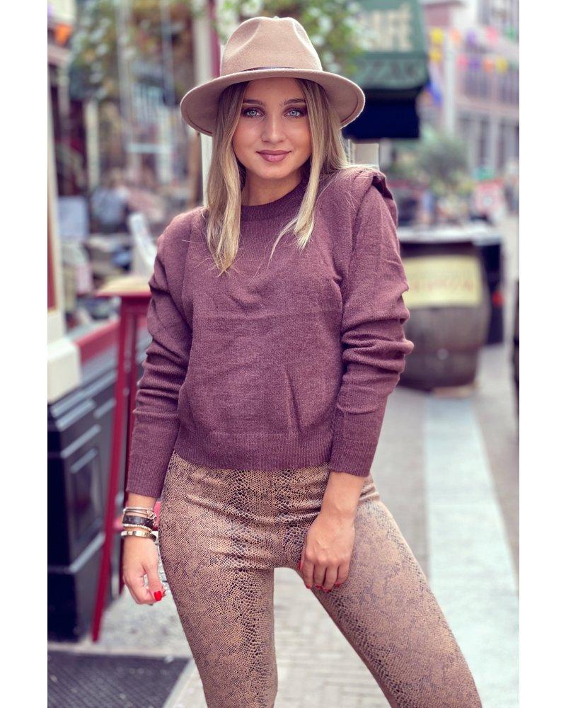 Isabella Sweater - Brown