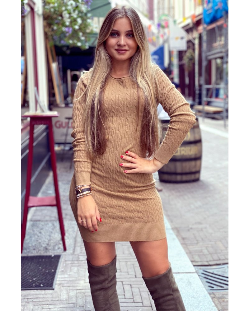 Izzy Dress - Camel