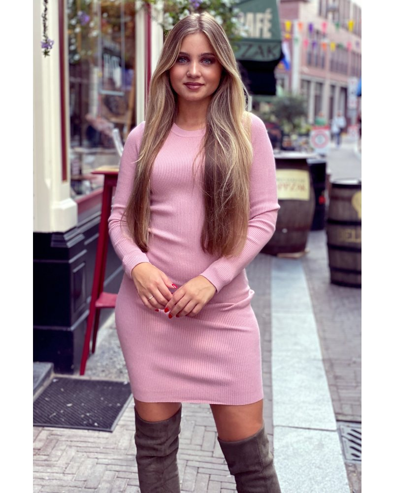 Pencil Dress - Pink