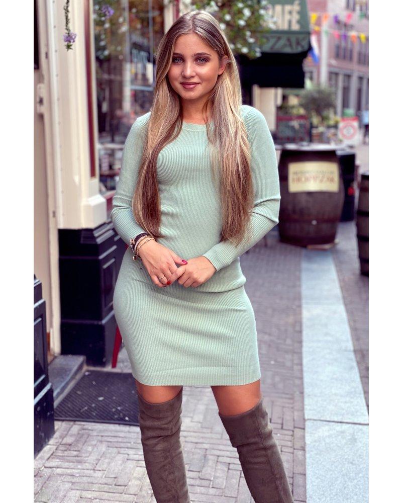 Pencil Dress - Mint
