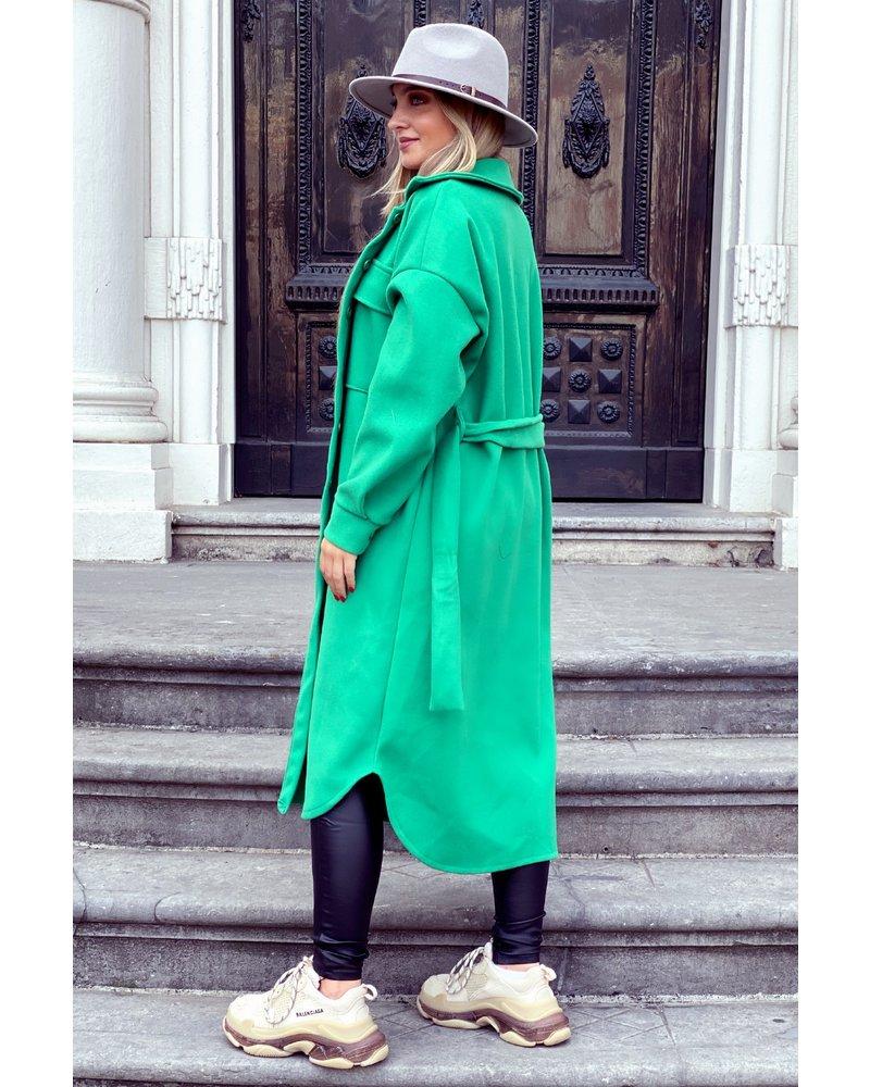 Kickie Coat - Green