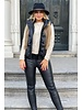 Perfect Leather Gilet - Black