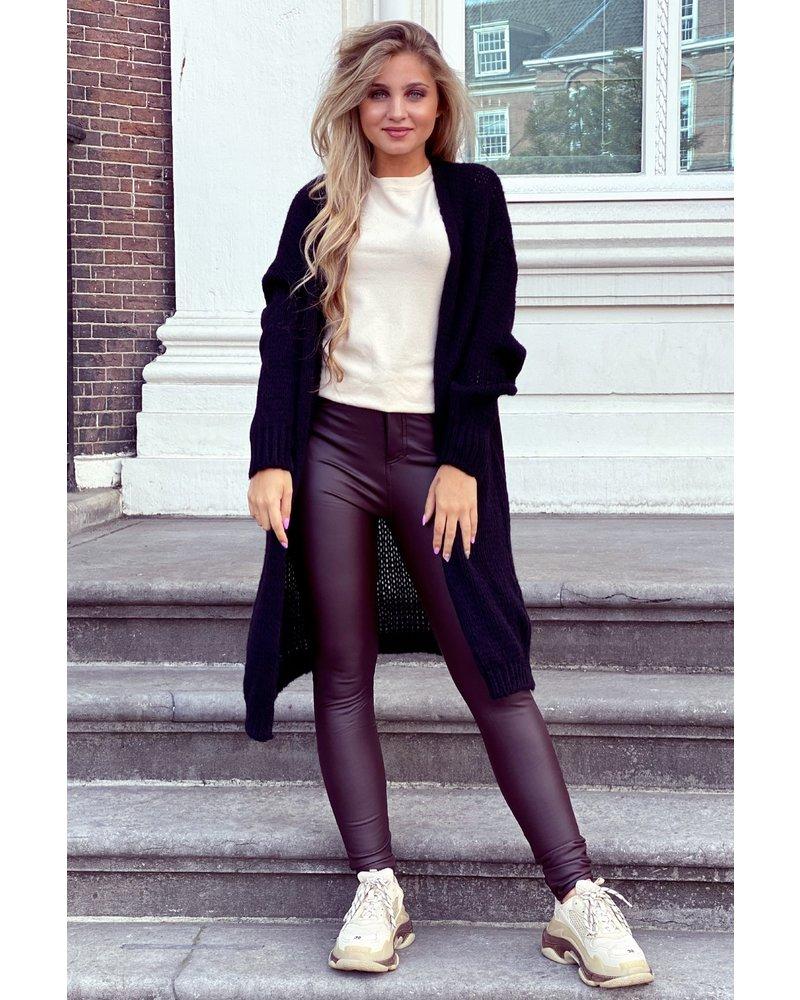 Comfy Knitted Vest - Black