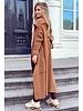Heather Knitted Vest - Camel