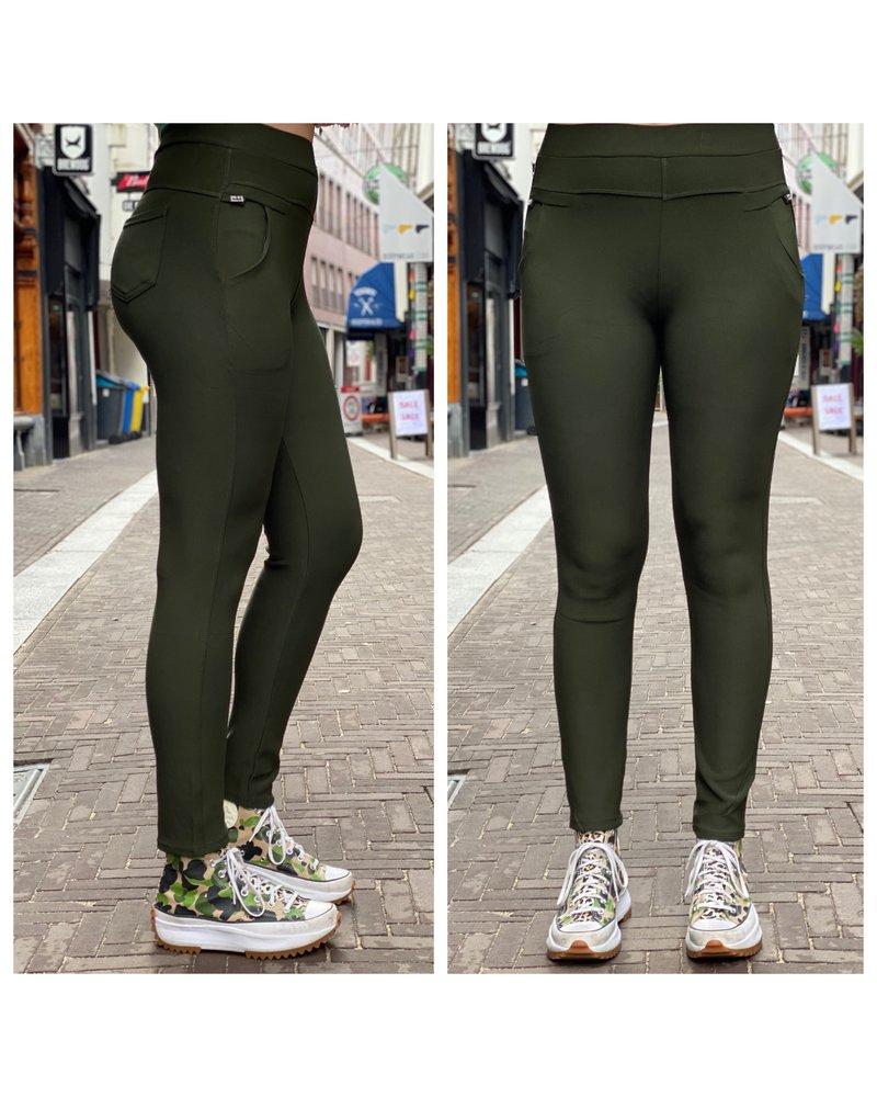 New Nikki Pants - Army Green
