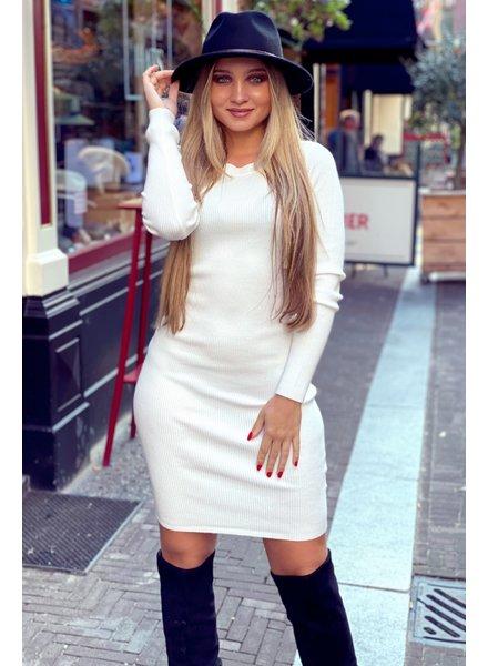 Pencil Dress - White
