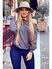 Basic Butterfly Sweater - Grey