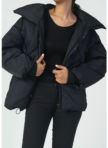 Musthave Puffer Coat - Black