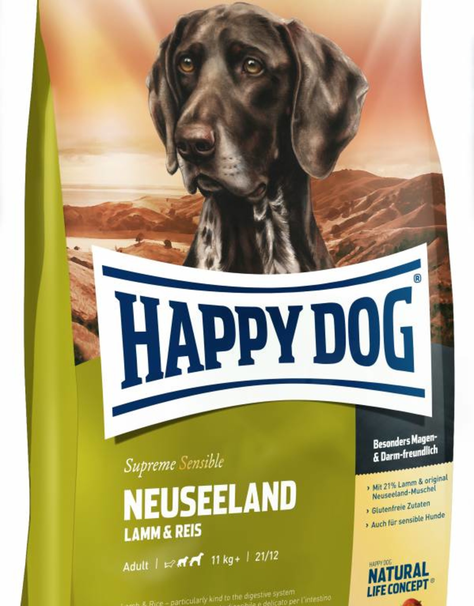 Happy Dog Supreme Sensible Neuseeland