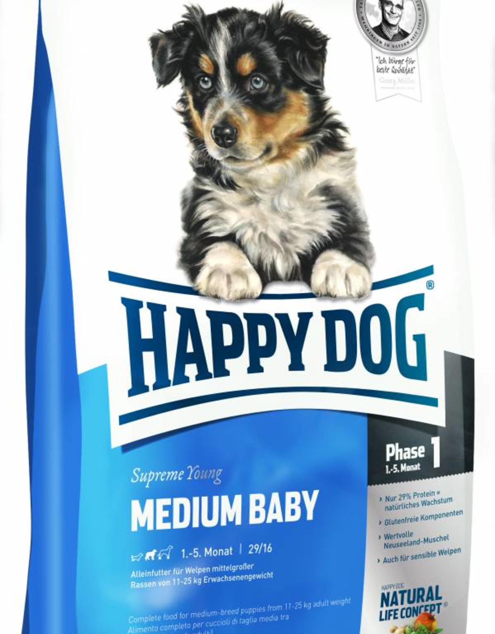 Happy Dog Supreme Young Medium Baby
