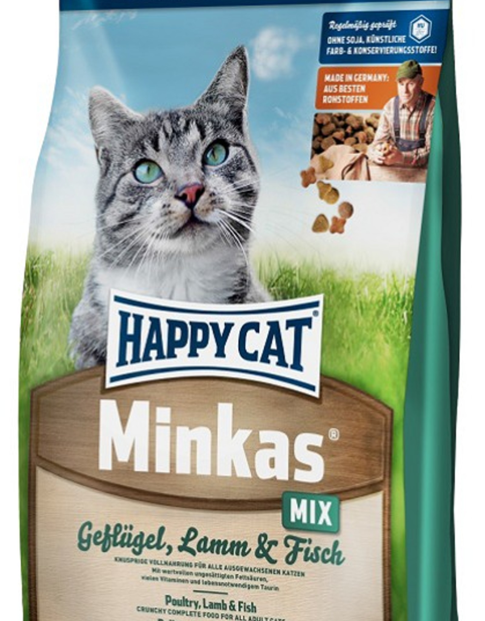 Happy Cat Minkas Perfect Mix 10 kg / 4 kg