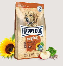 Happy Dog Premium - NaturCroq Rund & Rijst
