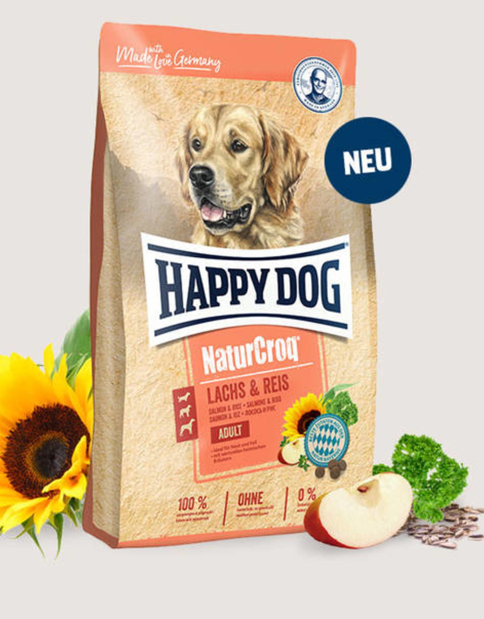 Happy Dog Premium - NaturCroq Zalm & Rijst