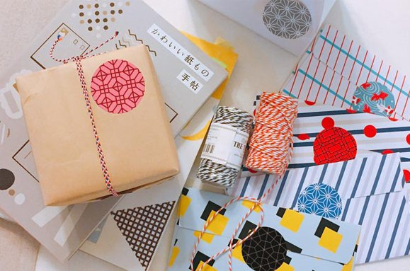 &cabinet Sticker mit koreanischem Muster - 9 Stück